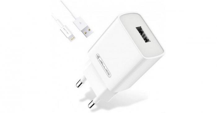 Incarcator retea incarcare rapida telefon 1 X USB 3.0 A + cablu 1,0 m mufa tip C, AQC35 tip-C 1