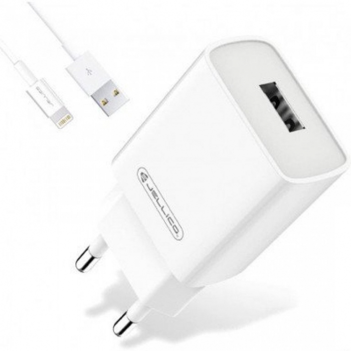 Incarcator retea incarcare rapida telefon 1 X USB 3.0 A + cablu 1,0 m mufa tip C, AQC35 tip-C 0