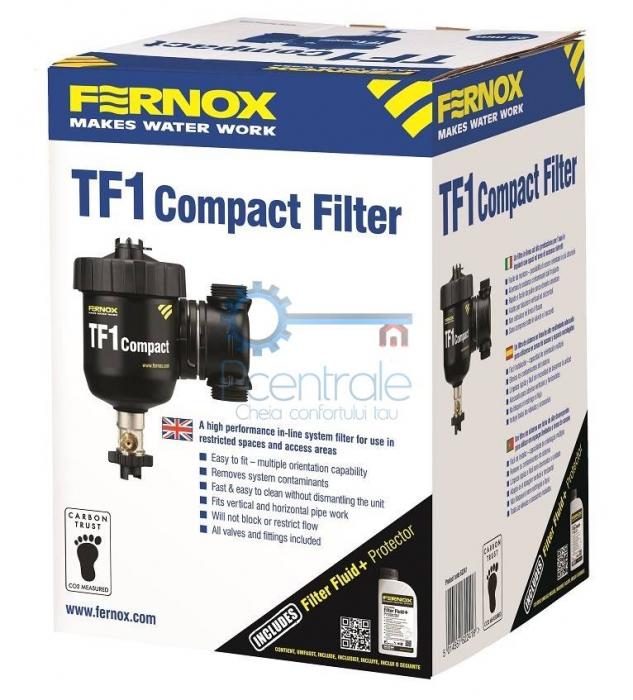Filtru antimagnetita Fernox TF1 Compact + fluid protector 2