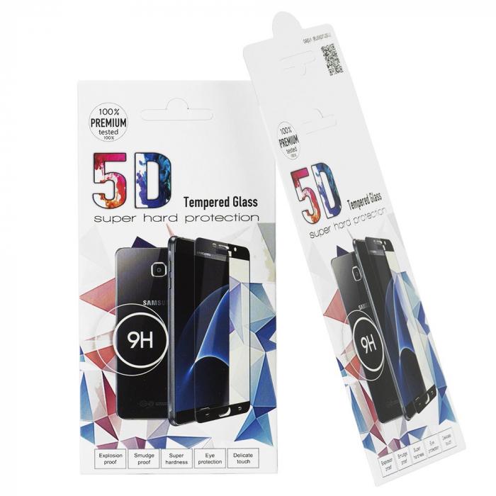 Folie sticla securizata 5D, 9H full screen, neagra, iPhone XS Max, iPhone 11 Pro Max 2