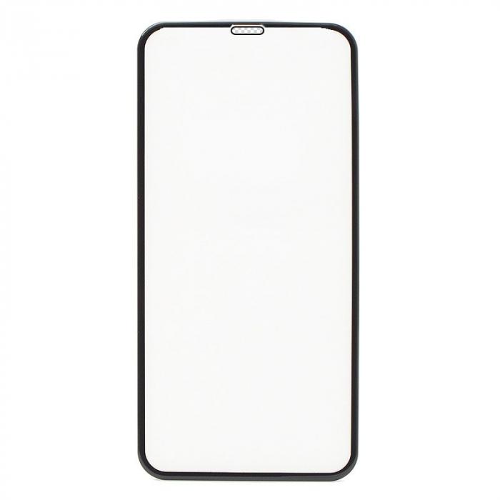 Folie sticla securizata 5D, 9H full screen, neagra, iPhone XS Max, iPhone 11 Pro Max 0