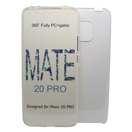 Husa protectie transparenta 360° full TPU+PC, Huawei Mate 20 Pro 0