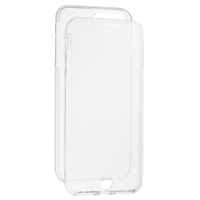 Husa protectie transparenta 360° full TPU+PC, iPhone 7, iPhone 8, 7G, 8G 0