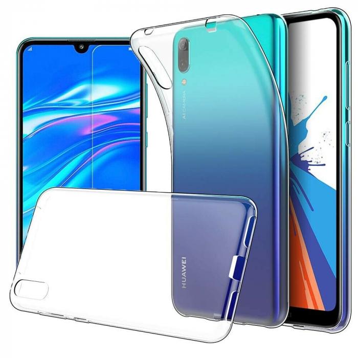 Husa protectie transparenta 360° full TPU+PC, Huawei Y7 2019, Y7 Pro 2019 0