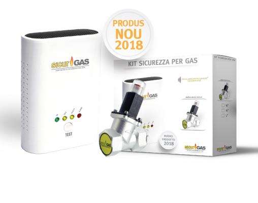 """Instalare sistem detectie gaz Sicurgaz (electrovana 1"""" + senzor) 0"""