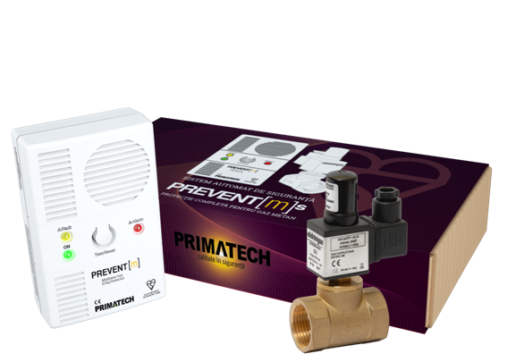 """Instalare sistem detectie gaz Sicurgaz (electrovana 3/4"""" + senzor) 0"""