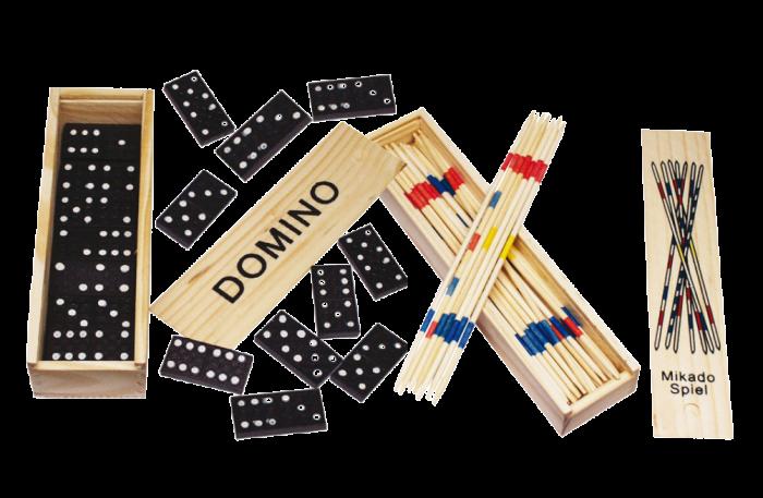 Jocuri antiplictiseala - pachet Marocco + Domino 0