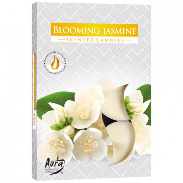 Set 6 lumanari parfumate, parfum de iasomie 0