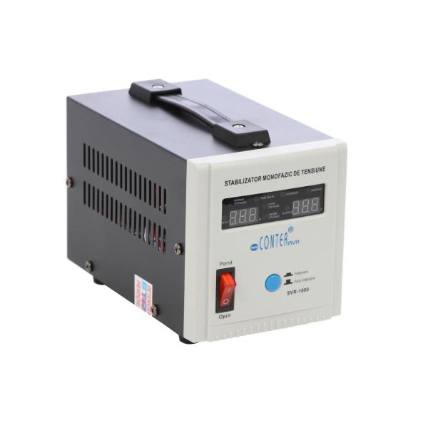 Stabilizator de tensiune cu releu Conter AVR SVR 1000VA-500W 1