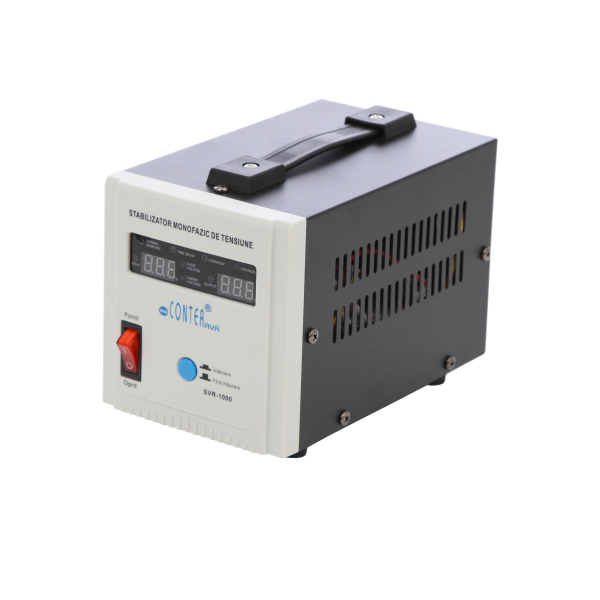 Stabilizator de tensiune cu releu Conter AVR SVR 1000VA-500W 0