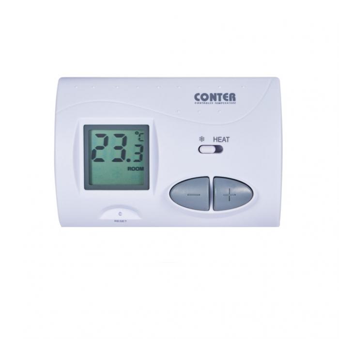 Termostat de ambient cu fir, Conter CT 3S 0