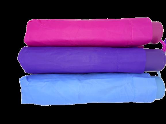 Umbrela de buzunar diametru 100 cm, de culoare bleu 2
