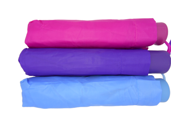 Umbrela de buzunar diametru 100 cm, de culoare roz 2