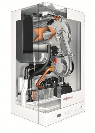 Centrala termica in condensare Viessmann Vitodens 050-W, 24 kW, kit evacuare inclus2