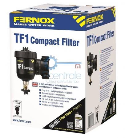 Filtru antimagnetita Fernox TF1 Compact + fluid protector2