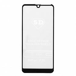 Folie sticla securizata 5D, 9H full screen, neagra, Huawei Y7 20190
