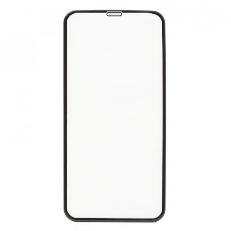 Folie sticla securizata 5D, 9H full screen, neagra, iPhone XS Max, iPhone 11 Pro Max0