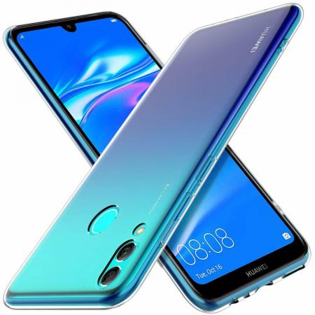 Husa protectie transparenta 360° full TPU+PC, Huawei Y7 2019, Y7 Pro 20192