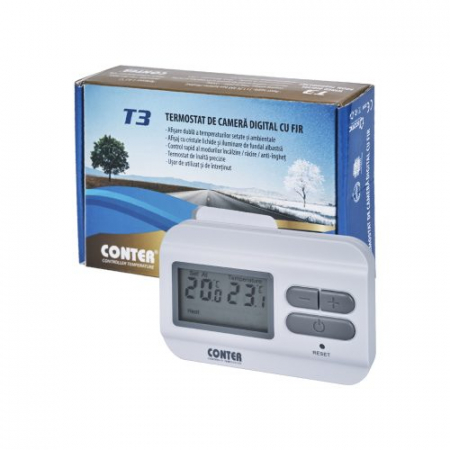 Termostat de ambient cu fir, Conter T31