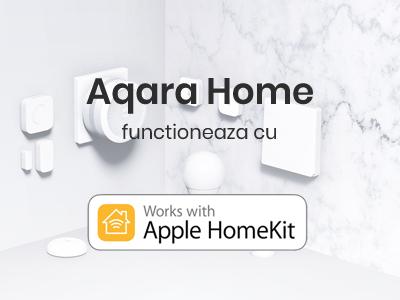 Poti controla device-urile Aqara folosind Apple Home sau Siri