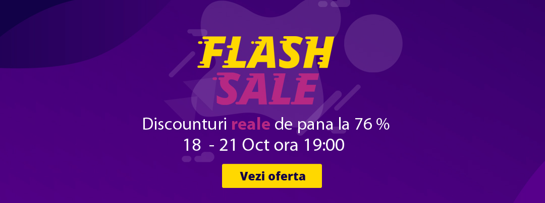 Banner flash sale Oct 2019