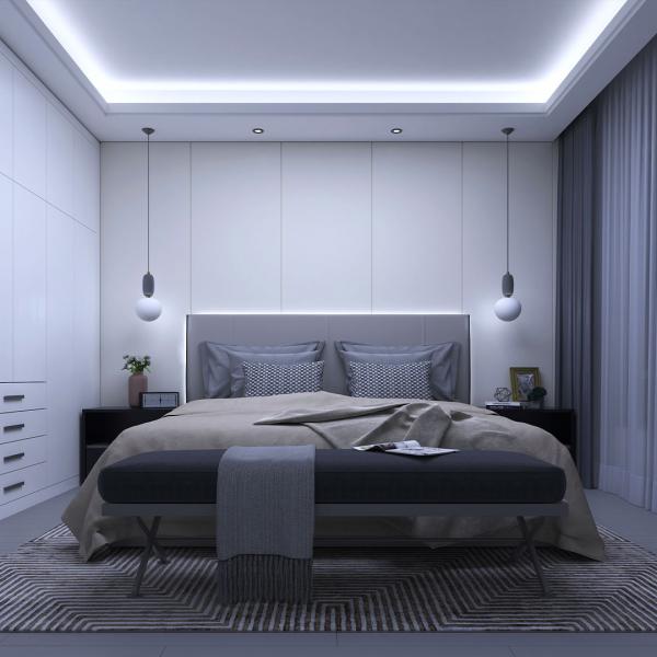 Banda LED Yeelight PRO, 5 metri, Wi-Fi, 500 lm/m, 2700K-6500K, compatibila smart home, alimentare 220-240V 4