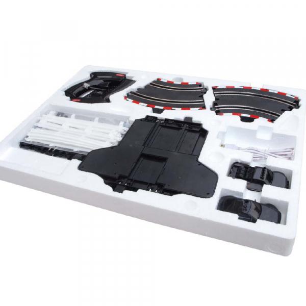 Circuit masinute cu telecomanda Joysway Super 152, lungime 308cm, alimentare cu USB, scala 1:43, faruri LED [1]