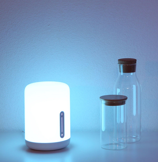 Lampa MI Bedside Lamp 2, compatibila Google, Alexa, smart home & Apple Homekit, Wifi, varianta EU & Globala