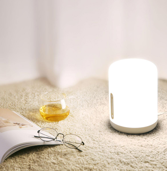Lampa MI Bedside Lamp 2, compatibila Google, Alexa, smart home & Apple Homekit, Wifi, varianta EU & Globala 4