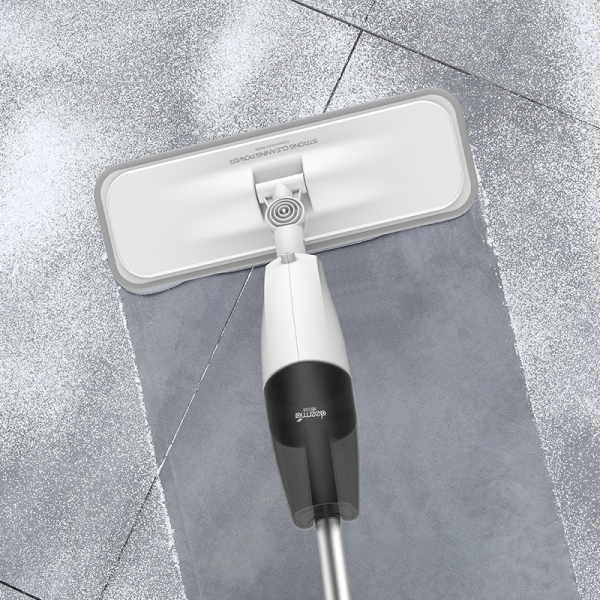 Mop Xiaomi Deerma TB500 cu pulverizator si rezervor apa, rotatie 360 grade, laveta fibra de carbon, uscare rapida 2