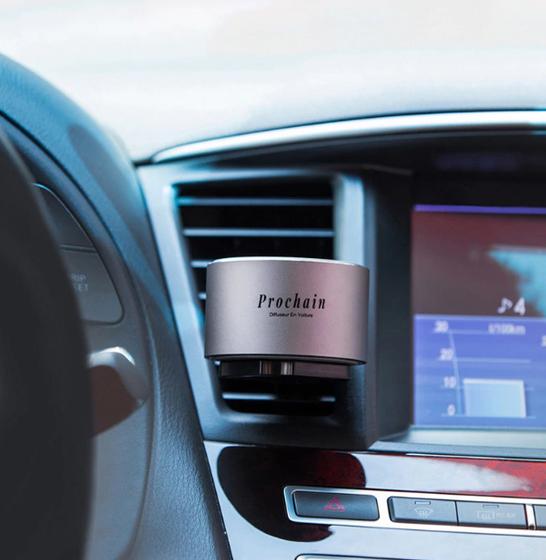 Odorizant auto Prochain (Xiaomi) Vivinevo, parfum floral, kit instalare cu baza magnetica 4