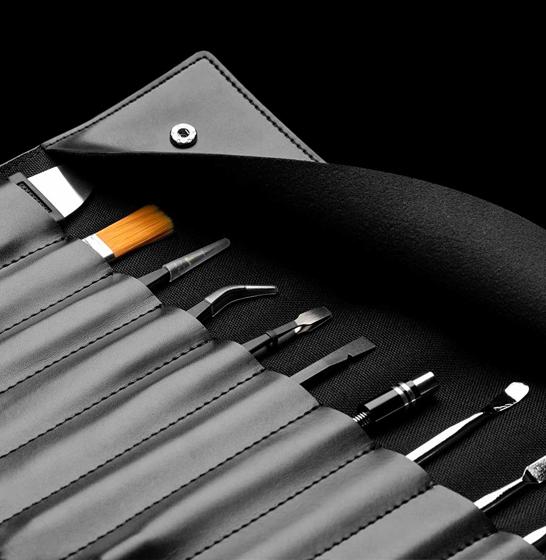 Set surubelnita electrica Xiaomi Wowstick 1+, 88 accesorii, 200r/min, LED, baterie 500mAh , gold 2