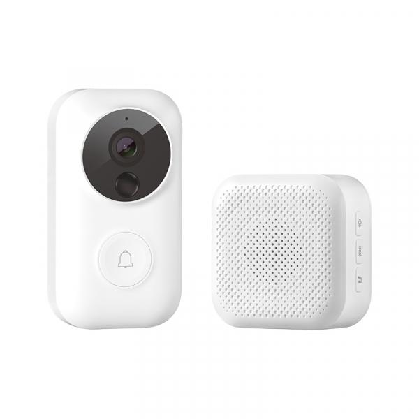 Set sonerie video smart Xiaomi 720p, IR vedere nocturna, senzor miscare, functia AI detectare persoane 0