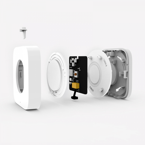 Switch wireless Aqara, programabil la 3 actiuni, ZigBee, compatibil smart home Aqara, Xiaomi, Homekit 2