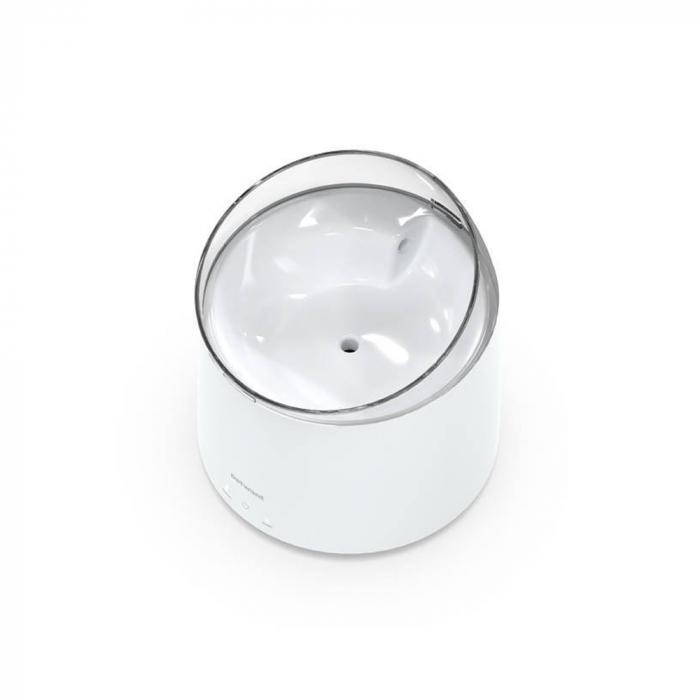 Adapator apa PetWant W2 tip fantana pentru catei sau pisici, auto-curatare UV, Alb [2]