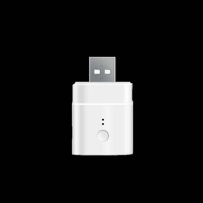 Adaptor cu USB smart Sonoff Micro, Wi-Fi, pentru automatizare device-uri cu USB, compatibil Alexa, Google Home [0]