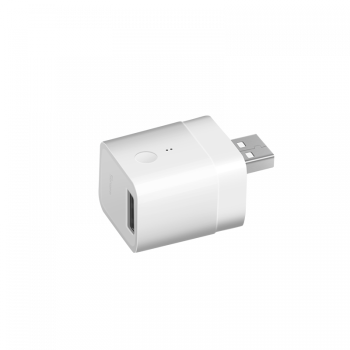 Adaptor cu USB smart Sonoff Micro, Wi-Fi, pentru automatizare device-uri cu USB, compatibil Alexa, Google Home [1]