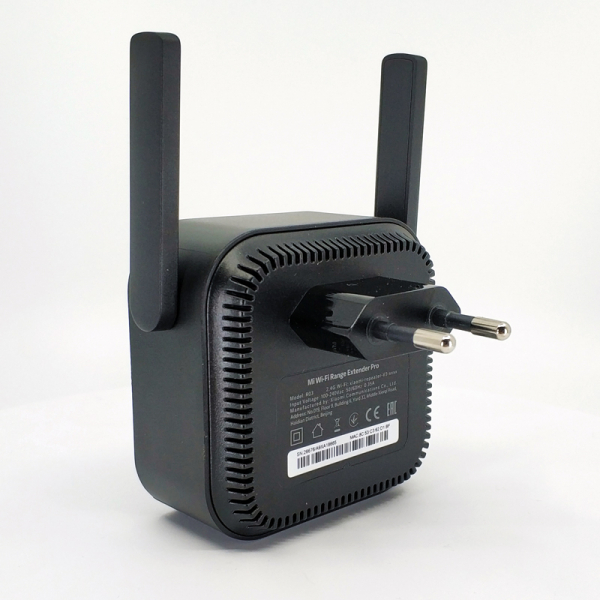 Amplificator wireless Xiaomi, Mi wifi repeater pro, 300Mbps, 2 antene, 2.4GHz, varianta europeana, negru 4