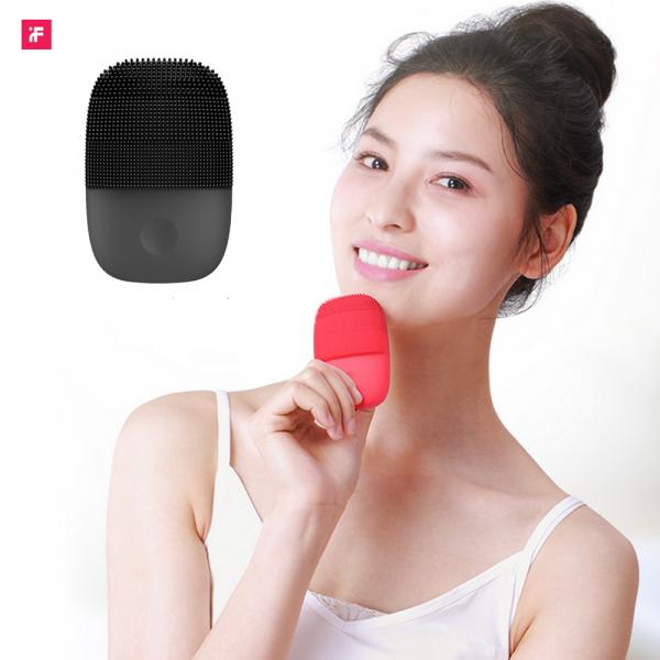 Aparat curatare faciala Xiaomi inFace Sonic, silicon medicinal, generatia a 2-a, 5 programe, waterproof IPX7, Negru 4