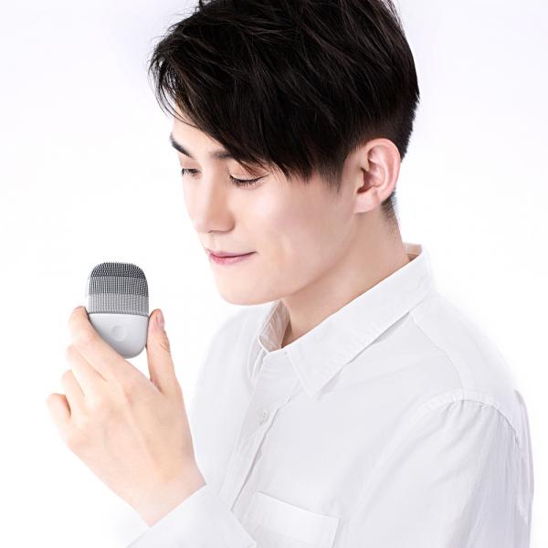 Xiaomi inFace Sonic, curatare faciala , silicon medicinal, tehnologie Sonic, 3 programe, waterproof IPX7, gray 5