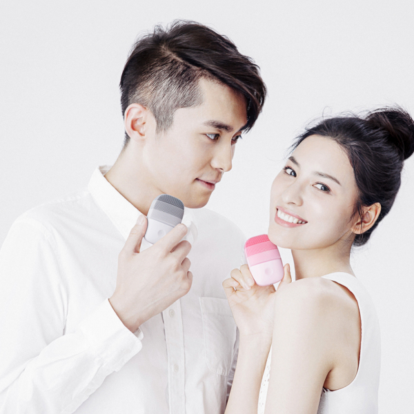 Aparat curatare faciala Xiaomi inFace Sonic, silicon medicinal, tehnologie Sonic, 3 programe, waterproof, verde 4