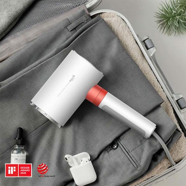 Multifunctional cu aburi Xiaomi Deerma HS200 pentru calcat haine vertical si orizontal, sterilizare abur 180°C, varianta europeana 3