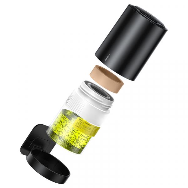 Device pentru purificare aer & odorizant auto micromolecular Baseus, antibacterian, 100ml, 3 luni autonomie 2