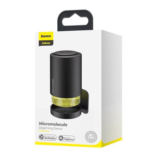 Device pentru purificare aer & odorizant auto micromolecular Baseus, antibacterian, 100ml, 3 luni autonomie 4