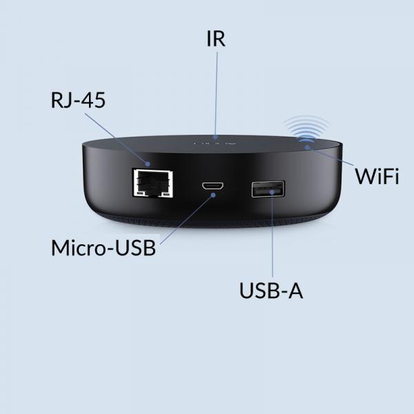 Gateway Aqara HUB M2 versiune europeana, ZigBee 3.0, control IR, port ethernet, compatibila Apple Homekit, Google Home, Aqara Home EU 4