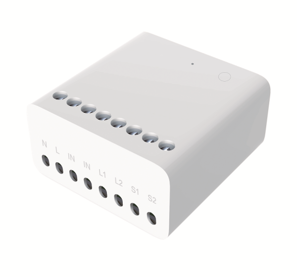 Releu smart Aqara wireless ZigBee, doua canale, ecosistem european, compatibil MI Home, Apple Homekit 0