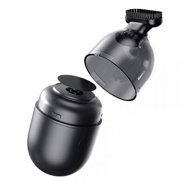 Mini aspirator pentru birou Baseus Capsule C2, putere de absorbtie 1000Pa, 900 mAh, 20 minute autonomie, 70 dB [1]