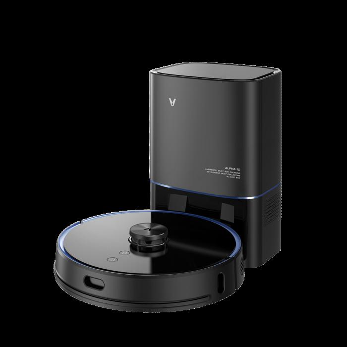 Aspirator robot autonom Xiaomi Viomi S9 Alpha 2021, functie autogolire cos & mopping, putere absorbtie 2700Pa, 5200mAh, tehnologie laser [4]