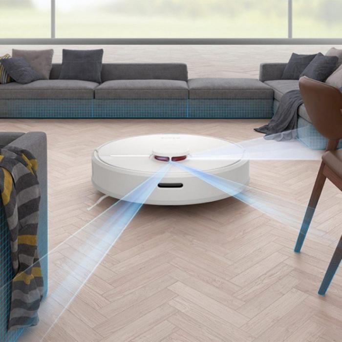 Aspirator robot Dreame D9, 3000 Pa, tehnologie laser, 5200mAh, 150min autonomie, compatibil ecosistem Xiaomi versiune europeana 4