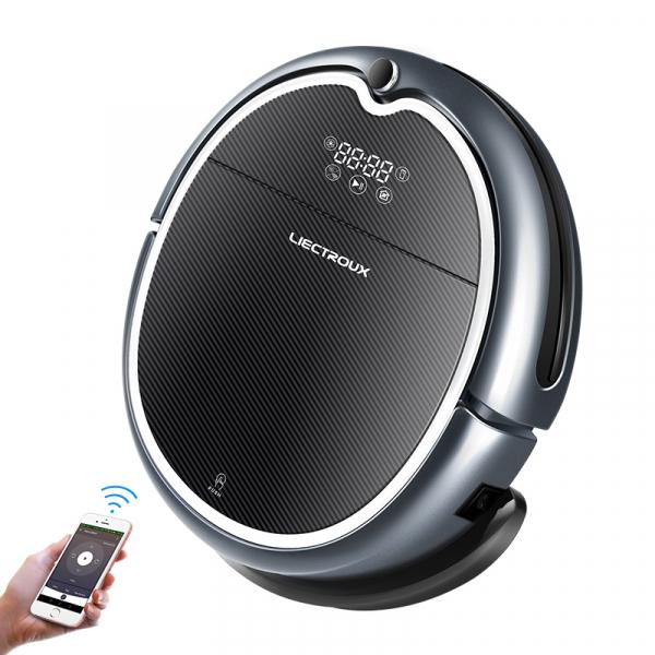 Aspirator robot smart Q8000, Wi-Fi, 3000Pa, acces de la distanta prin aplicatie, aspirare si spalare, navigare 2D [0]